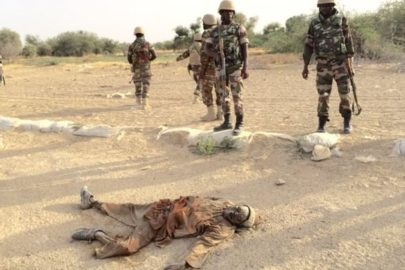 Soldater i Niger var en del av en regional offensiv mot Boko Haram i 2015. Foto: Idriss Fall/Wikimedia Commons